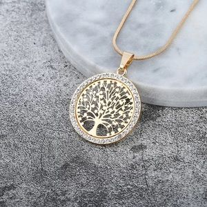 🆕 Tree of Life Cubic Zirconia Necklace
